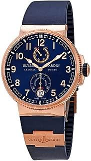 Ulysse Nardin Marine Chronometer Manufacture Men's Automatic Power Reserve Rose Gold Watch 1186-126-3/63