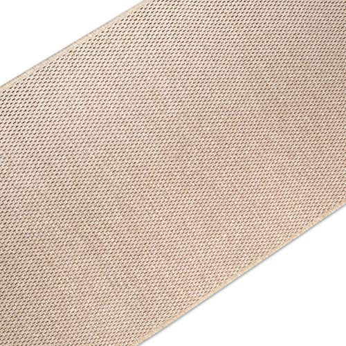 casa pura Teppich Läufer in Sisal Optik | Flachgewebe mit Tiger-Eye-Struktur | ausgezeichnet mit GUT-Siegel | kombinierbar mit Stufenmatten (Beige, 80x200 cm)