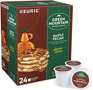 Keurig Coffee Pods K-Cups 16/18 / 22/24 Count Capsules ALL BRANDS/FLAVORS (24 Pods Green Mountain - Maple Pecan)