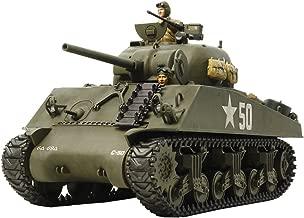 U.S. Medium Tank M4A3 Sherman (w/Single Motor) (Plastic model) by Tamiya