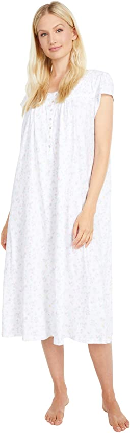 100% Cotton Cap Sleeve Ballet Nightgown