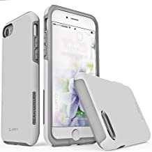 TEAM LUXURY [Clarity Series Case for iPhone 7 & 8, Updated G-II Ultra Defender [Shock Absorbent] Premium Protective Phone Case (4.7 Inch) - Light Gray