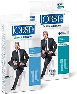BSN Jobst Medias de compresión Jobst Formen Ambition KKL 2 AD calcetines de rodilla con encaje marrón, tamaño: Größe 4