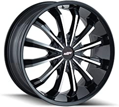 DIP FUSION Gloss Black/Machined Face Wheel with Painted Finish (20x8.5 5x112 / 5x120, 35mm Offset)