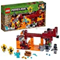 LEGO Minecraft The Blaze Bridge 21154 Building Kit (372 Pieces) from LEGO