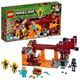 LEGO Minecraft The Blaze Bridge 21154 Building Kit...