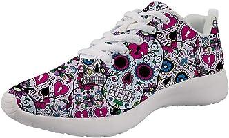 chaussures tête de mort femme 1