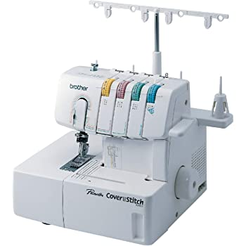 Brother 2340CV Coverstitch Serger, Sturdy Metal Frame, 1,100 Stitches Per Minute, Trim Trap, 1 Included Snap-on Presser Foot
