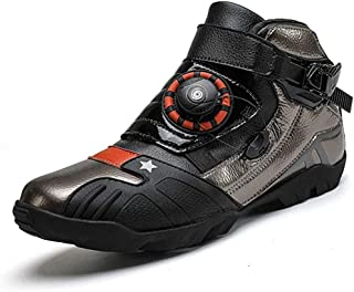 ZMYC Cycling Shoes Men Road Shoes Lightweight Wear Resistant Breathable Without Click System Motorcycle Riding Shoes For Mountain Road Biking (Color : C, Size : 39)