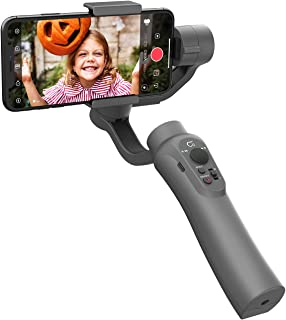CINEPEER Phone Gimbal, 3-Axis Gimbal Stabilizer for iPhone 12/11/X/XS, Samsung Android Phone, ZY Play App Support, Smooth ...