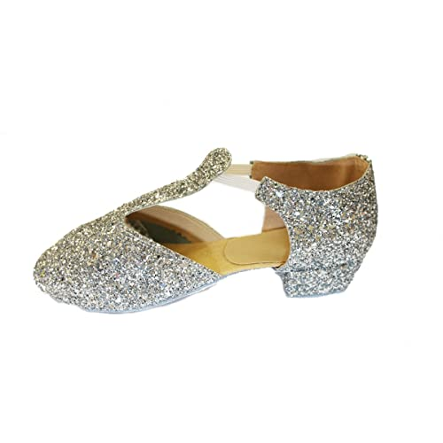 f828743c91e7 Dance Depot Leather or Glitter Greek Sandals
