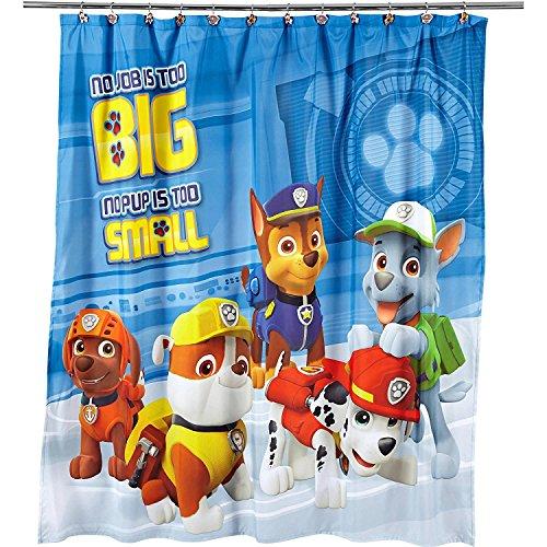 Paw Patrol Fabric Shower Curtain
