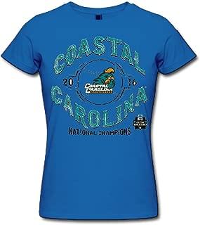 Guiwan Women's Coastal Carolina Chanticleers 2016 Men's Baseball College World Series National Champions T-shirt