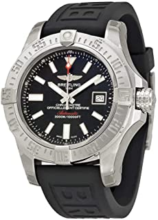 Breitling Mens BTA1733110-BC30BKPT3 Avenger II Seawolf Analog Display Swiss Automatic Black Watch