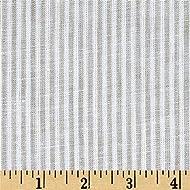 TELIO Umbria Linen Big Stripe, Yard, Taupe