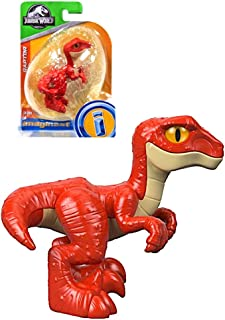 Imaginext Jurassic World Raptor Dinosaur Figure 3.5""