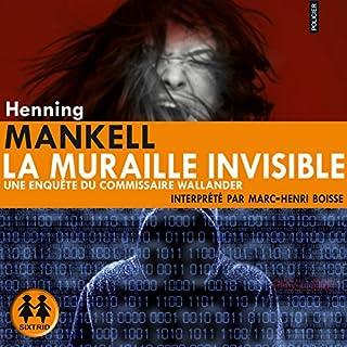 La muraille invisible audiobook cover art