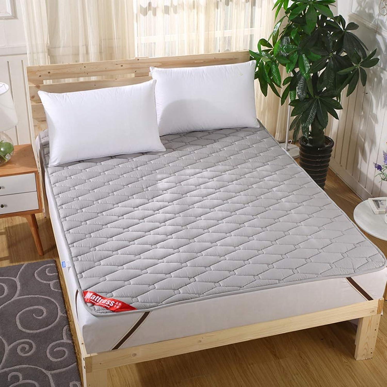 Tatami Mattress Mattress Cotton Soft Mattress Foldable Non-Slip Tatami Bed Scorpion Dormitory Mat Tatami Mattress Double +A (color   D, Size   90x200cm (35x79inch))