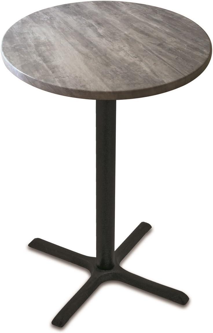 Holland Bar Stool Co OD211-3042BWOD36RRustic 42 Tall OD211 Season 36 Diameter Rustic Top Indoor//Outdoor Table