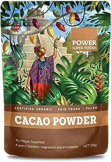 Power Super Foods Cacao Powder, 125 g