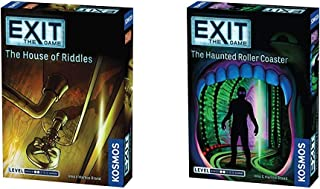 Exit: The House of Riddles   Exit: The Game - A Kosmos Game from Thames & Kosmos & Exit: The Haunted Roller Coaster   Exit...