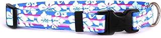 """طوق للكلاب بتصميم زهور استوائية من يلو دوج ديزاين Medium 14"""" - 20"""" TF104"""