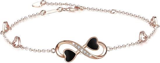 Best white gold infinity bracelet Reviews