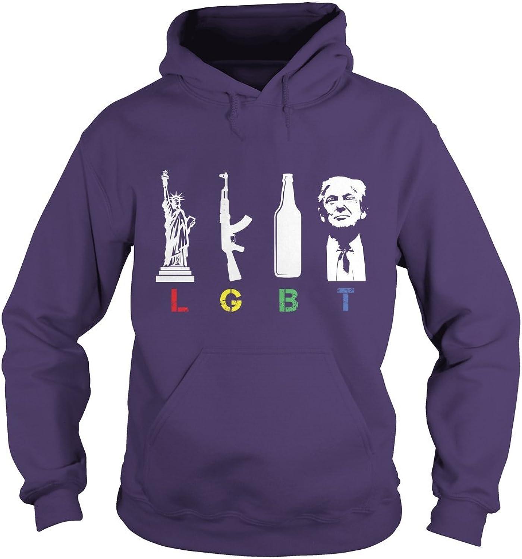 Liberté Gun Beer Trump LGBT T-Shirt