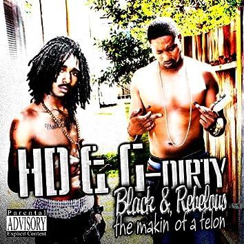 Black & Rebellious the Makin of a Felon