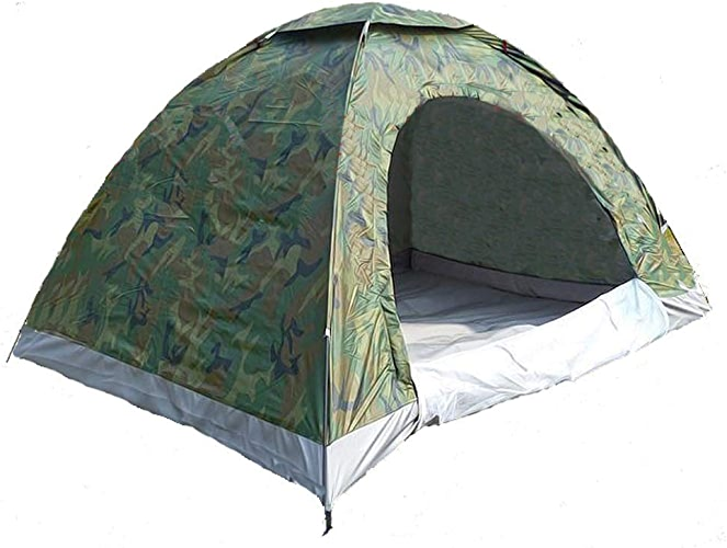 Sortie Udstyr, Tente de Camping en Plein Air Double Camouflage, Tente de Couple, Loisirs de Camping, Anti-Insectes, Prougeection Uv, Tente de Plage, Kejing Miao
