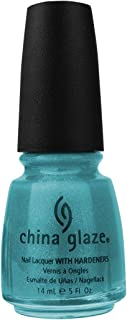 China Glaze Nail Lacquer With Hardeners, Watermelon Rind - 14 Ml - Green