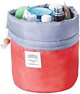 Waterproof Bag Makeup Bag Cosmetic Bag Travel Kit Organizer Bathroom Storage (Pink)