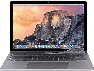 moshi Clearguard MB without Touch Bar (EU)(欧州EUキーボード用キーボードカバー)(対応機種注意:MacBook 12インチなど向け)静かな打音 Touch Barも保護 ぴったりフィットの極薄0.1m...