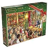 Juegos Jumbo Falcon de Luxe Navidad Pantomima Jigsaw Puzzle (1.000 Piezas)