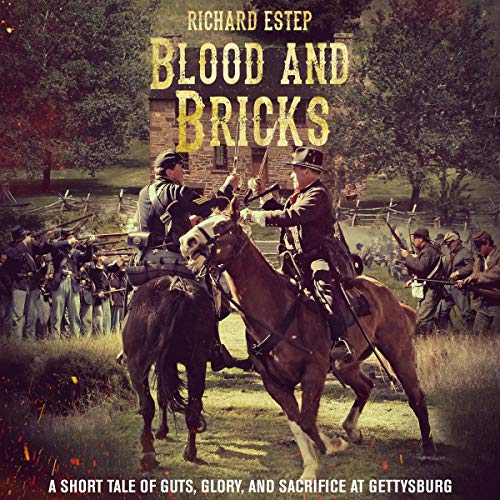 Blood and Bricks audiobook cover art