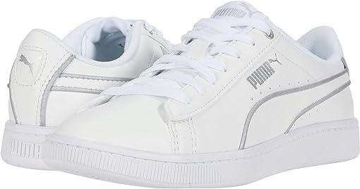 Puma White/Puma Silver/Gray Violet