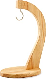 スワンソン 木製 バナナスタンド ラバーウッド 20×12×29.5cm バナナを房ごと吊るせる LF-050