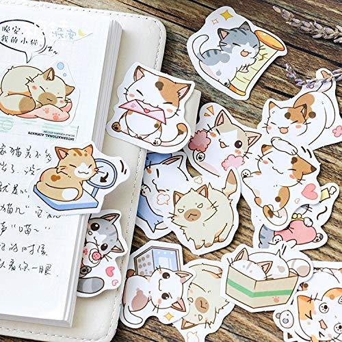 BLOUR Kawaii Be My Cat Dekorative Schreibwaren Aufkleber Scrapbooking DIY Tagebuch Album Stick Label