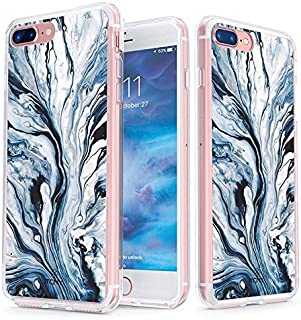 TRUE 彩色透明 SHIELD Liquid 大理石系列 Blue Liquid Marble For iPhone 8 Plus