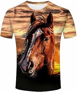 Tshirts Sunset Animal Unisex Polyester