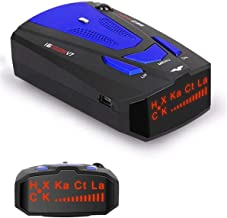 ToysUkids Radar Detector,Radar Detector with Voice Alert and Car Speed Alarm System with 360 Degree Detection