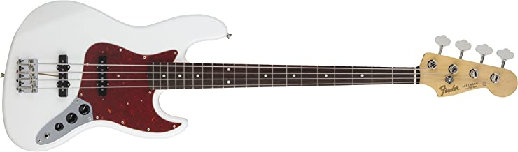Fender エレキベース MIJ Hybrid '60s Jazz Bass®, Rosewood, - Arctic White