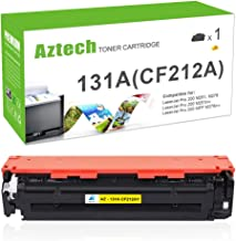 Aztech Compatible Toner Cartridge Replacement for HP 131X 131A CF212A CF210X (Yellow, 1-Pack)