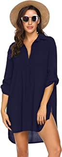 beach tunic plus size