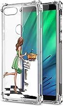 Suhctup Coque Filles Compatible pour Xiaomi Mi CC9 Pro,Etui [Antichoc Airbag] Transparent Silicone TPU Souple Mode Motif C...