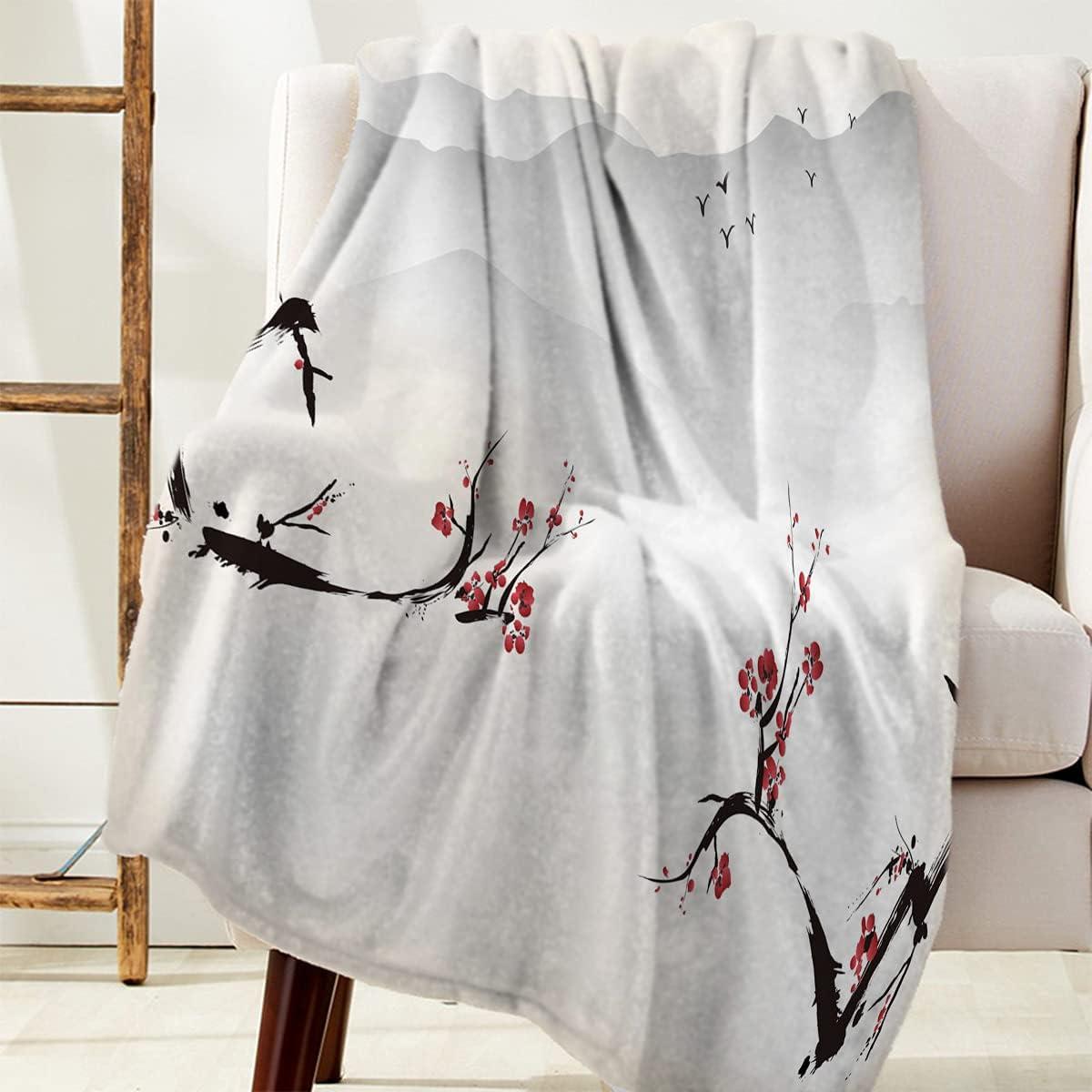 All Season Bed Blanket Flannel Fleece for S Blankets Couch overseas Under blast sales Throw