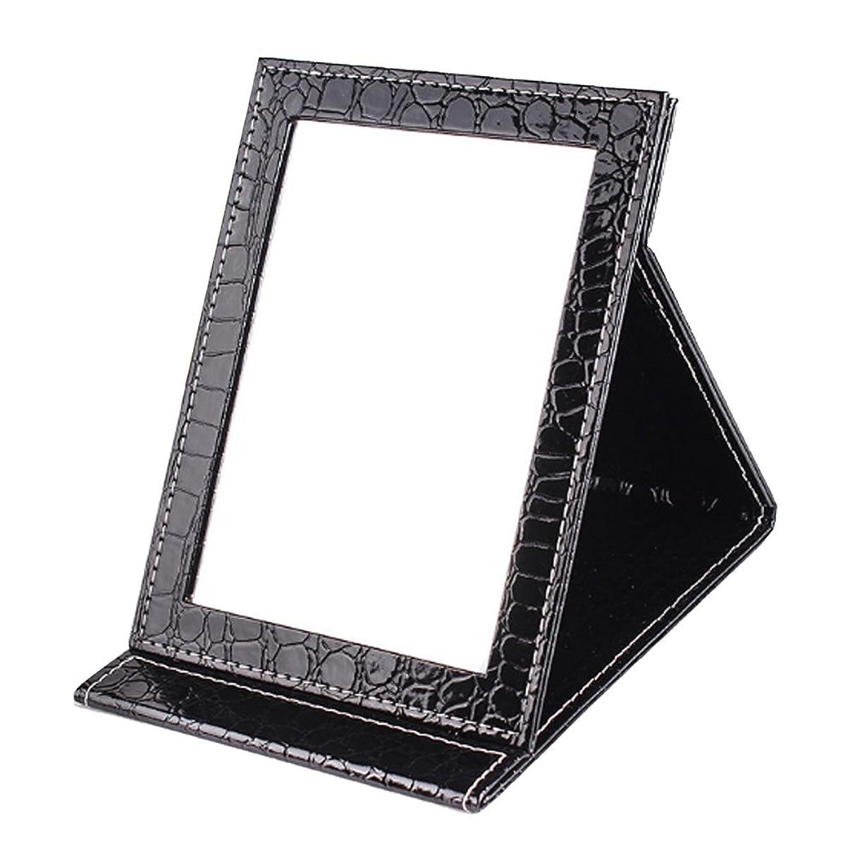 簡単にリゾート約[BEATONJAPAN] 手鏡 折りたたみ 折り畳みミラー 卓上