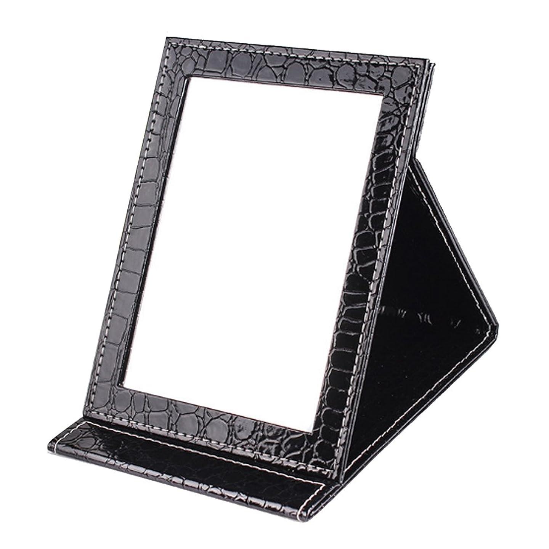 温かい思慮深い火薬[BEATONJAPAN] 手鏡 折りたたみ 折り畳みミラー 卓上