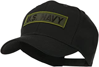 e4Hats.com Military Related Text Embroidered Patch Cap