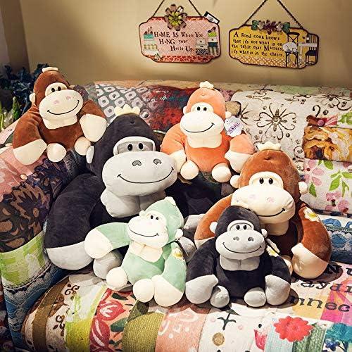 PANGDUDU Gorilla Puppe Niedlichen AFFE Plüschtier Kissen Größe Rag Doll Puppe Junge Geburtstagsgeschenk, Farbe Kann Abgestimmt Werden, EIN Satz Von 3